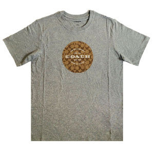 COACH SIGNATURE T Shirt F33780 Grey